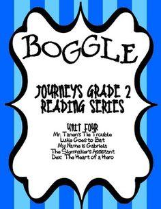 Journeys 2nd grade unit 1 lesson 3 dogs pinterest common cores boggle journeys second grade unit four fandeluxe Image collections