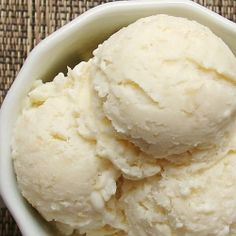 Rice Pudding Ice Cream - Sounds weird, but it works rice pudding ice cream with rum.