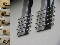Awesome window protection Iron Window Grill, Window Grill Design, Door Design, Steel Grill Design, Steel Gate Design, Balcony Railing Design, Staircase Design, 2bhk House Plan, Window Protection