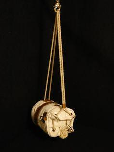 Windjammer Seabag with Leather Bottom - ShipCanvas.com
