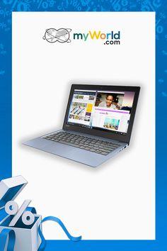 Szukasz nowego komputera? 💻 Wybierz niezawodny laptop, który sprawdzi się na co dzień: Lenovo IdeaPad 120S 👉bit.ly/ElectronicSale_pin_lenovo Laptop, Electronics, Getting To Know, Laptops, Consumer Electronics