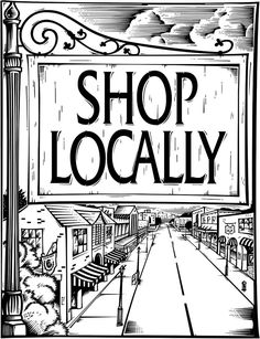 Image result for shop local templates