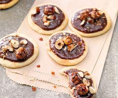 #minipizzas au #chocolat et #noisettes caramélisées