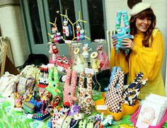 Craft fair stall.I did this for 9 yrs .treasures from the heart .had to quit due to health issues.loved it!
