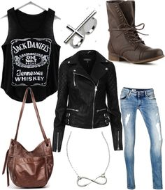 Not a huge fan of the Jack Daniels thing, but if it said something else on the front, I'd wear it.  -Puja