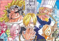 anime, one piece, Sanji,  Germa 66