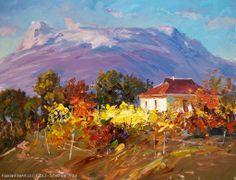 """Radiant November"" - oil, canvas http://www.russianfineart.co/catalog/prod.php?productid=21250 Artist: Schesnyak Viktor"