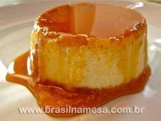 RECEITA DE PUDIM AFRODISÍACO DE AMENDOIM COM LEITE CONDENSADO | Receitas - Dietas - Gastronomia - Brasil na Mesa