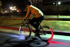 https://vimeo.com/209474253 The entire concept of the Revolights sounds fascinating. A headlamp, and a tail-lamp, within the wheel of your bicycle itself! How it works is even