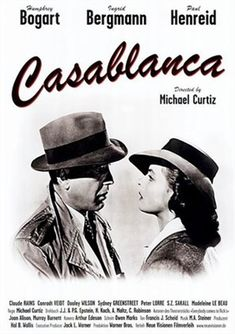 Casablanca posters for sale online. Buy Casablanca movie posters from Movie Poster Shop. We're your movie poster source for new releases and vintage movie posters. Ingrid Bergman, Humphrey Bogart, Classic Movie Posters, Classic Movies, Cinema Posters, Film Posters, Casablanca Film, Bogart Movies, Film Mythique