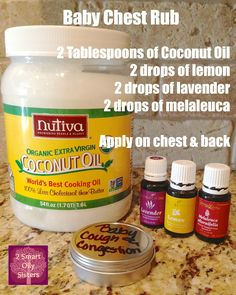 Baby Chest Rub Recipe. Lavender, Lemon, and Melaleuca Alt, Young Living Essential Oils. Www.youngliving.org/ambermoore