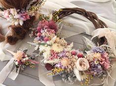 #リースブーケ #プリザーブドフラワー  #ドライフラワー  #ウエディング Minne, Floral Wreath, Wreaths, Home Decor, Board, Flower Crowns, Door Wreaths, Deco Mesh Wreaths, Interior Design