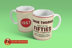 Personalised Coffee Mug – The Retro Emporium