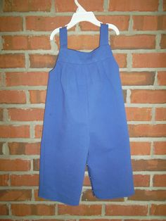 Overalls made for a baby shower gift