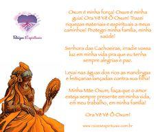 Oração a Oxum no sábado Wicca, Prayers, Magick, Wiccan