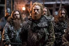 Pin for Later: See Brand-New Pictures From Game of Thrones Season 5!  Tormund Giantsbane and the rest of the Wildings aren't that thrilled about it either.