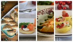 51 aperitivos y entrantes fáciles para sorprender en las comidas y cenas de Navidad #recetas Canapes, Paella, Deli, Italian Recipes, Lasagna, Sushi, Cheesecake, Spaghetti, Mexican
