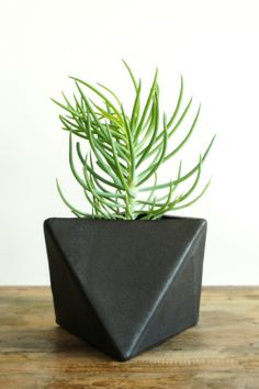 Geometric Planter  http://spartan-shop.com/collections/all/products/eric-bonnin-geometric-planter