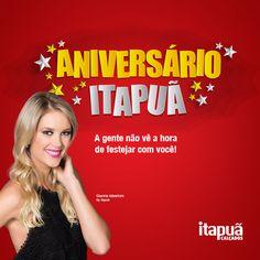 No aniversário da Itapuã quem ganha o presente é você. Vem conferir nossas ofertas!