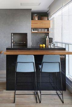 rnrnSource by casavoguebrasil Decor, Kitchen Inspirations, Interior, Home Furniture, Interior Design Kitchen, Kitchen Dining, Sweet Home, Living Room Designs, Balcony Design