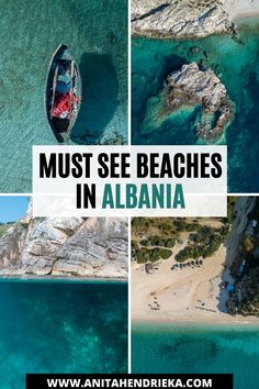 Want to know the best Albania beach destinations? Here you will find the best the best Albanian beaches including Ksamil, Saranda (Sarande), Vlora (Vlore), Dhermi, gjipe beach, Himare, drymades, Jale and more. Albania travel destinations are some of the best Balkan travel destinations.  If you're looking for incredible Europe bucket list destinations then choose Albania! Top travel tip: Some of the best beaches are located within the Albanian Riviera Albania Beach, Albania Travel, Visit Albania, Europe Travel Outfits, Europe Travel Guide, Travel Destinations, Beautiful Beach Pictures, International Travel Tips, Secluded Beach