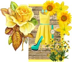 """""""sunshine"""" by let-the-sun-shine ❤ liked on Polyvore"""