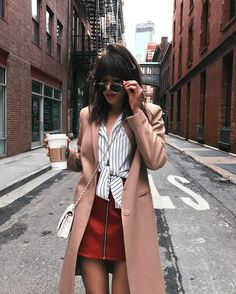 """2,595 Likes, 69 Comments - Michelle NYC Style Blogger (@cremedemichelle) on Instagram: """"One spiked latte and a bday cake to go pleaseee"""""""