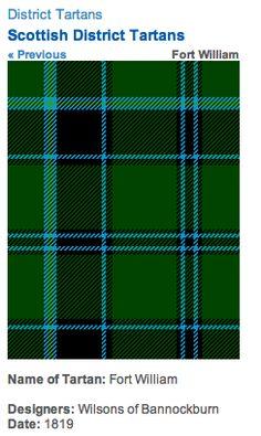 http://www.scotclans.com/whats_my_clan/district_tartans/scottish_district_tartans/fort_william_tartan.html