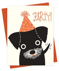 Birthday card by Night Owl Paper Goods.