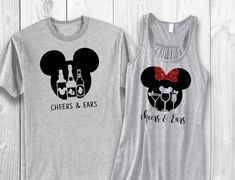 Couple'S drink around the world (epcot) shirts - cheers and ears disney shirts, Matching Disney Shirts, Disney Shirts For Family, Funny Disney Shirts, Disney Vacations, Disney Trips, Disney Travel, Disney Cruise, Disney Outfits, Disneyland Outfits