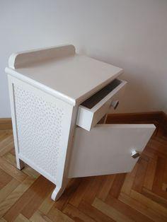 Espacio y Diseño, mesilla, restauración, mueble