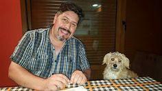 Vaya dos y dispuestos para cenar que ya son horas!!! #anabelycarlos #somostres #unanuevaetapa #mascotas #lapequeñalisy