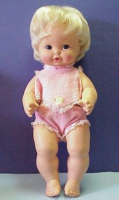 Baby Tender Love 1969 - I still have mine 38 years later. She stays in the crib with my 1 year old. Beanie Babies, Childhood Toys, Childhood Memories, Family Memories, Mattel Dolls, 1970s Dolls, 1960s, Barbie, 80s Kids
