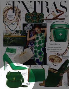 Harper's Bazaar (April 2012) featuring the Happy Bag  http://www.dooney.com/db/ASIFB-BAZ0412  -