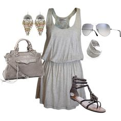 Gray, created by doodleluv on Polyvore