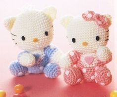 free crochet hello kitty  purss  patterns | hello kitty pattern for japanese baby hello kitty ravelry little hello ...