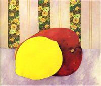 Aldemir Martins  Natureza Morta  113 x 147 cm  Acrílica e colagem sobre tela