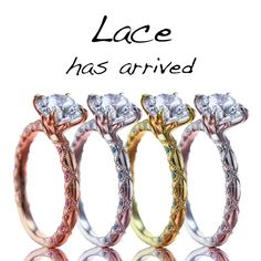 Introducing the Lace Collection - More Here... http://www.briangavindiamonds.com/designer/lace-collection