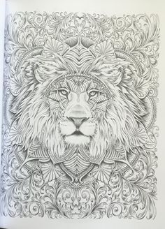 Colour My SketchBook Greyscale colouring book (Volume Bennett Klein… Blank Coloring Pages, Adult Coloring Book Pages, Animal Coloring Pages, Printable Coloring Pages, Coloring Books, Mandalas Painting, Mandalas Drawing, Colorful Drawings, Colorful Pictures
