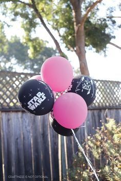girly star wars party | craftiness is not optional | Bloglovin'