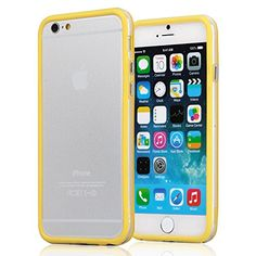 iPhone 6 Plus Case - KAYSCASE ColorLine Bumper Cover Case for Apple iPhone 6 5.5 inch 2014 Version (Lifetime Warranty) (Yellow) KaysCase http://www.amazon.com/dp/B00LULJYUU/ref=cm_sw_r_pi_dp_JasNub0NW0SHX