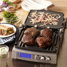 Cuisinart Elite Griddler...especially great for those cold months when bbq-ing is just not possible.