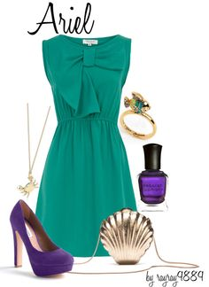 Ariel, created by raven-ferrel on Polyvore