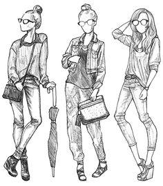 Sketches by Rachel Nhan