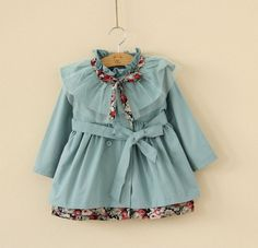2y3y4y5y6y toddler girl blue jacket wedding party by babygirldress, $35.99