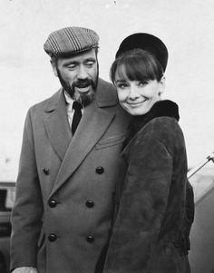 Audrey Hepburn with Mel Ferrer