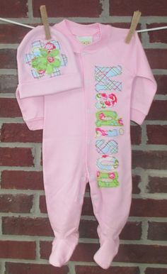 baby girl coming home outfit baby girl by SewSundryCreations, $38.85