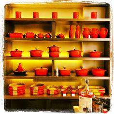 Le Creuset store nel McArthur Glen di Castel Romano #lecreuset #cocotte #outlet #press2 #arancio