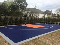 Kids dream sport court w rebound net home sweet home for How much does a sport court cost