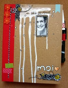 Lots of different Smash book ideas some even look like art journaling pages; many photos!